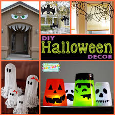 How To Make Halloween Decorations At Home 100 Fun Diy Halloween Decorations Halloween Wreath Wreaths