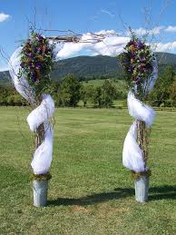 Wedding Arches Decorated With Tulle 202 Best Diy Wedding Arches Images On Pinterest Marriage