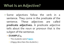 chapter 4 using adjectives in sentences