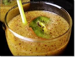 cuisine alg駻ienne facile rapide jus de kiwi frais la recette rapide aux delices du palais de