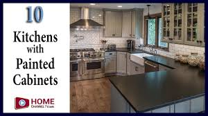 painted kitchens designs kitchen designs with painted cabinets contrasting islands youtube