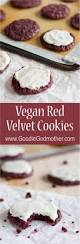 vegan red velvet cookies goodie godmother a recipe and