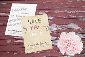 ring selbst designen wunderschöne save the date karte im vintage stil zum selbst