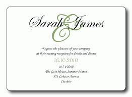 wedding reception program sle reception invitation template songwol 80a0f2403f96