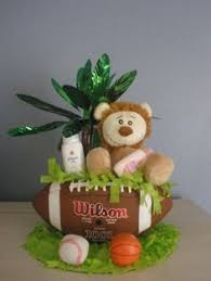 Sports Baby Shower Centerpieces by Lambs U0026 Ivy Team Safari Center Table Decoration My Little