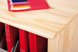 Kleiner Holz Schreibtisch Links 30600102 Schreibtisch Mit Schubladen Kiefer Massiv Holz