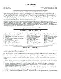 sample resume executive manager sample executive resume u2013 inssite