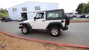 jeep rubicon white sport 2015 jeep wrangler sport bright white fl761256 redmond