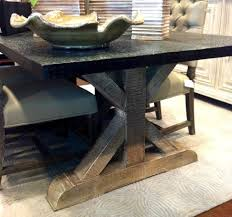 modern gold table l wonderful dining room rustic table metal den with stainless steel l