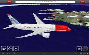 Norwegian Air Route Map by Norwegian Launches Flightpath3d Moving Map Service On