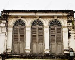 Thailand Home Decor Old Building In Phuket Thailand Stock Photo Picture And Royalty