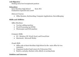 resume for kids resume cv cover letter