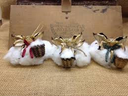 3 of the south cotton pickin southern ornaments southern