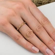 inele aur inel aur roz 14k cu safir portocaliu bijuterii zehava