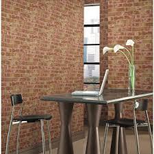 Sq Ft York Wallcoverings 57 Sq Ft Brick Wallpaper He1044 The Home Depot
