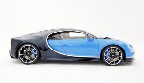 blue bugatti bugatti chiron 2016 scale model cars