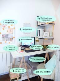 des bureau les essentiel pour l organisation du bureau décoration chambre
