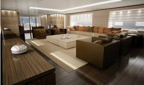 Interior Design For Yachts And Large Boats Freshomecom - Boat interior design ideas