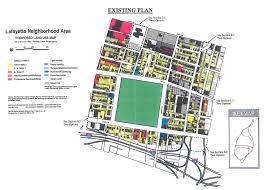 Saint Louis Zip Code Map by Design And Site Plan For 64 Townhomes At Lafayette Square Praxair