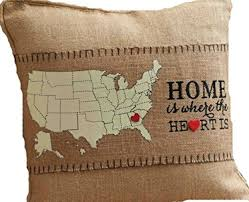 Home Is Where The Heart Is Mud Pie Home Is Where The Heart Is Pillow Wrap Gold Leaf Finish