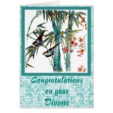 Congrats On Your Divorce Card Congratulations On Your Divorce Cards Invitations Greeting