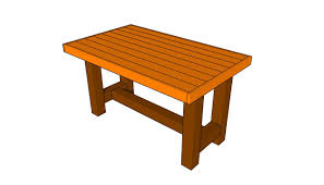 Free Small Wooden Table Plans by Outdoor Table Plans Myoutdoorplans Free Woodworking Plans And