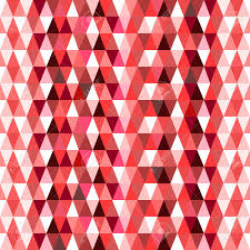 triangle red pattern wallpaper create by vector royalty free