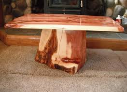 attractive tree trunk coffee table with tree stump table etsy