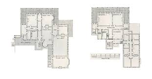 Clarence House Floor Plan Como House Melbourne Australia Ground And First Floor Plans