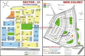 Gurgaon India Map by Gurgaon Sector Maps Gurgaon Residential Plots Gurgaon Plot