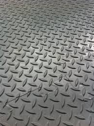 interlocking vinyl floor tiles checker plate surface workplace