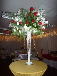 Christmas Lights In A Vase by Flowers Centerpiece Tall Mirror Vase With Led Light Christmas