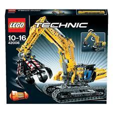 amazon com lego technic excavator 42006 toys u0026 games
