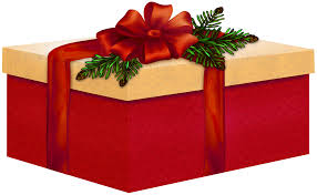 christmas gift bow large and present with bow clipart gallery