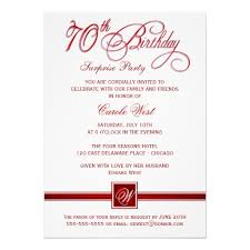 birthday invites 10 best collection 70th birthday invitations