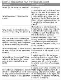 dbt emotion regulation worksheets dbt recognizing your emotions