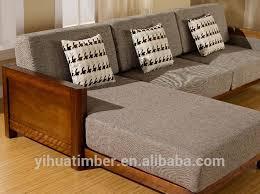 Wooden Living Room Sofa F  Pinteres - Sofa set in living room