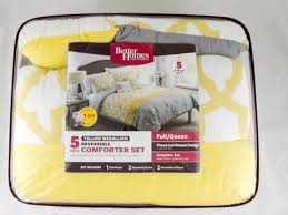 Comforter At Walmart Better Homes And Gardens Yellow And Gray Medallion 5 Piece Bedding