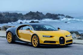 suv bugatti bugatti delivers unique yellow chiron to first customer in the us