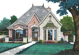 Romantic House Plans For Small French Country Cottages Cottage