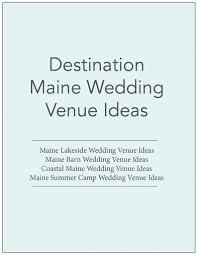 Barn Weddings In Maine Destination Maine Wedding Venue Ideas Lakeside Wedding Venues