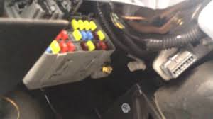 2004 honda civic fuse box location youtube