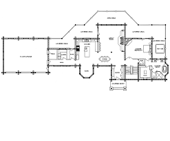 log home floor plans with garage log home floor plan casa grande