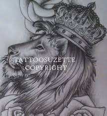 lion crown tattoo design photo 1 photo pictures and sketches