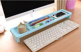telephone stand desk organizer long idesk sky blue multifunction desktop organizer mdo01 cheap