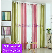 Green Sheer Curtains Bedroom Door Drapes Green Pink Blue Fabric Net Sheer Curtain