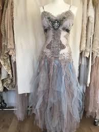 Wedding Dresses Light Blue Alternative Wedding Dress Beach Wedding Victorian Tulle Dress