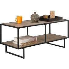 Coffee Table Frame Altra Furniture Emmett 1 Shelf Tv Stand Coffee Table In Sonoma Oak