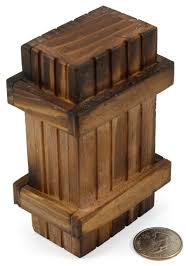 puzzling wood gift box thinkgeek