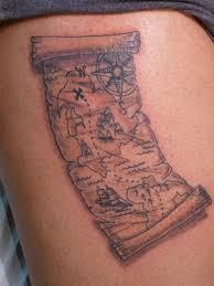 80 fantastic map tattoos